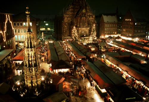 Vánoční trhy Norimberk