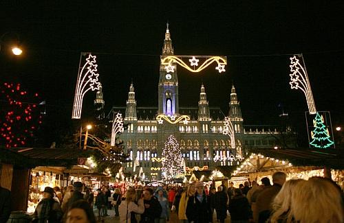 Vianočné trhy - Viedeň