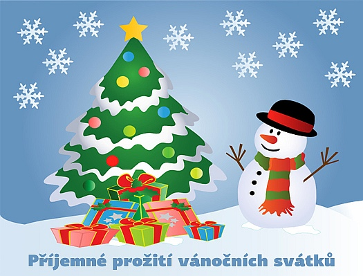 Vánoční přání, pohlednice