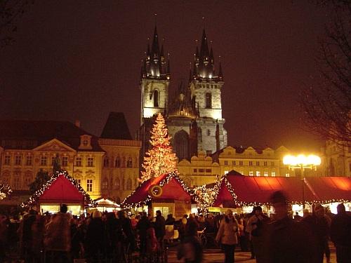 Vánoční trhy Praha